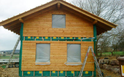 Neubau einer Jagdhütte
