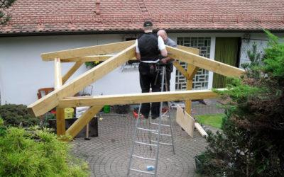 Neubau eines Pavillons