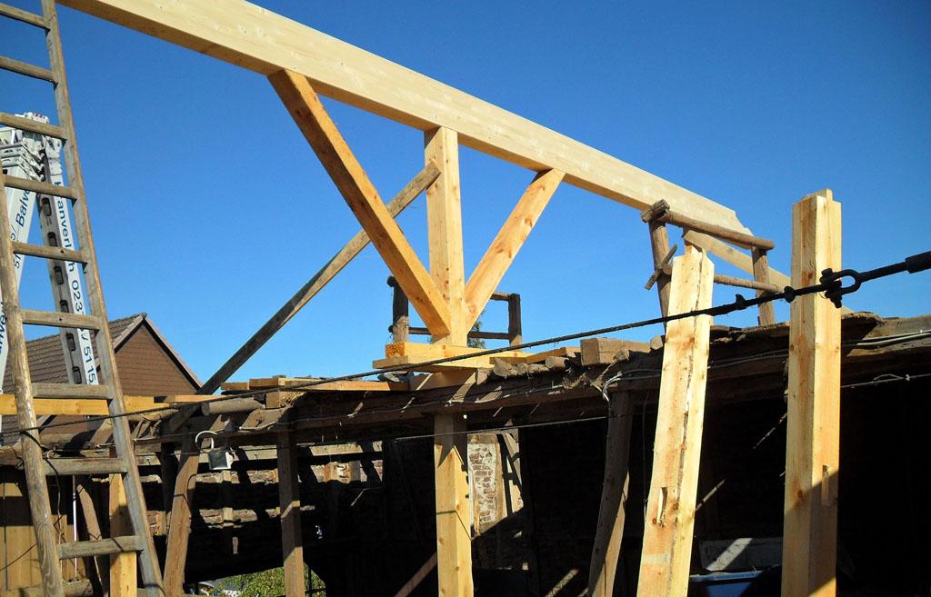 Sanierung eines Scheunendachs